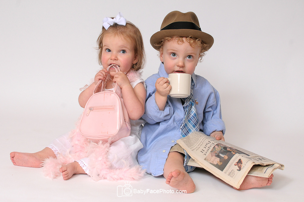 Almost 2 Years Old Twins Frederick Md Children S Photographer