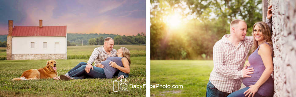 Outdoor maternity photography frederick md maternity photographer
