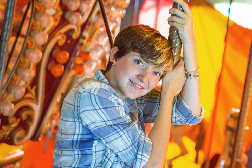 Senior Pictures At The Great Frederick Fair Frederick Md