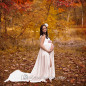 maternity fall outdoors