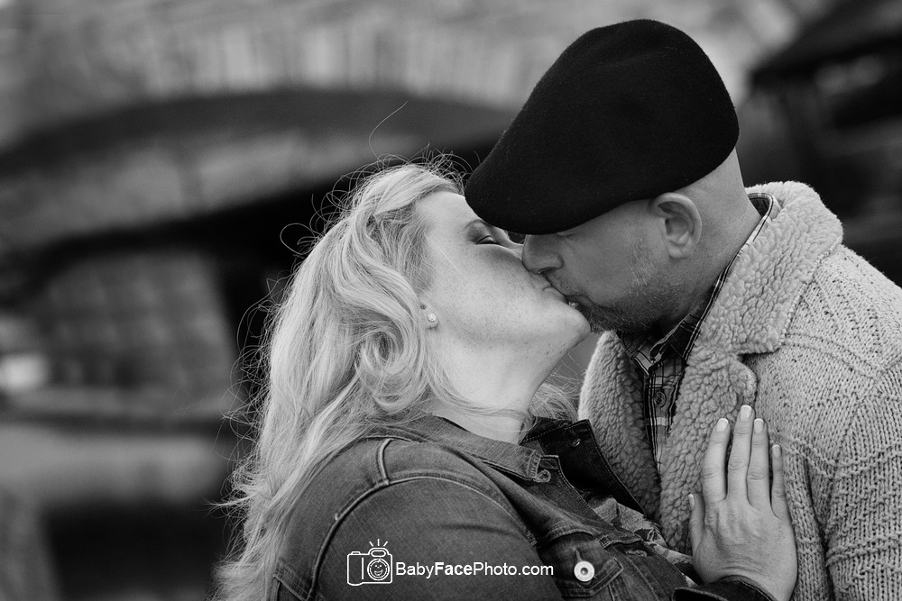 Downtown Frederick Couples Photography