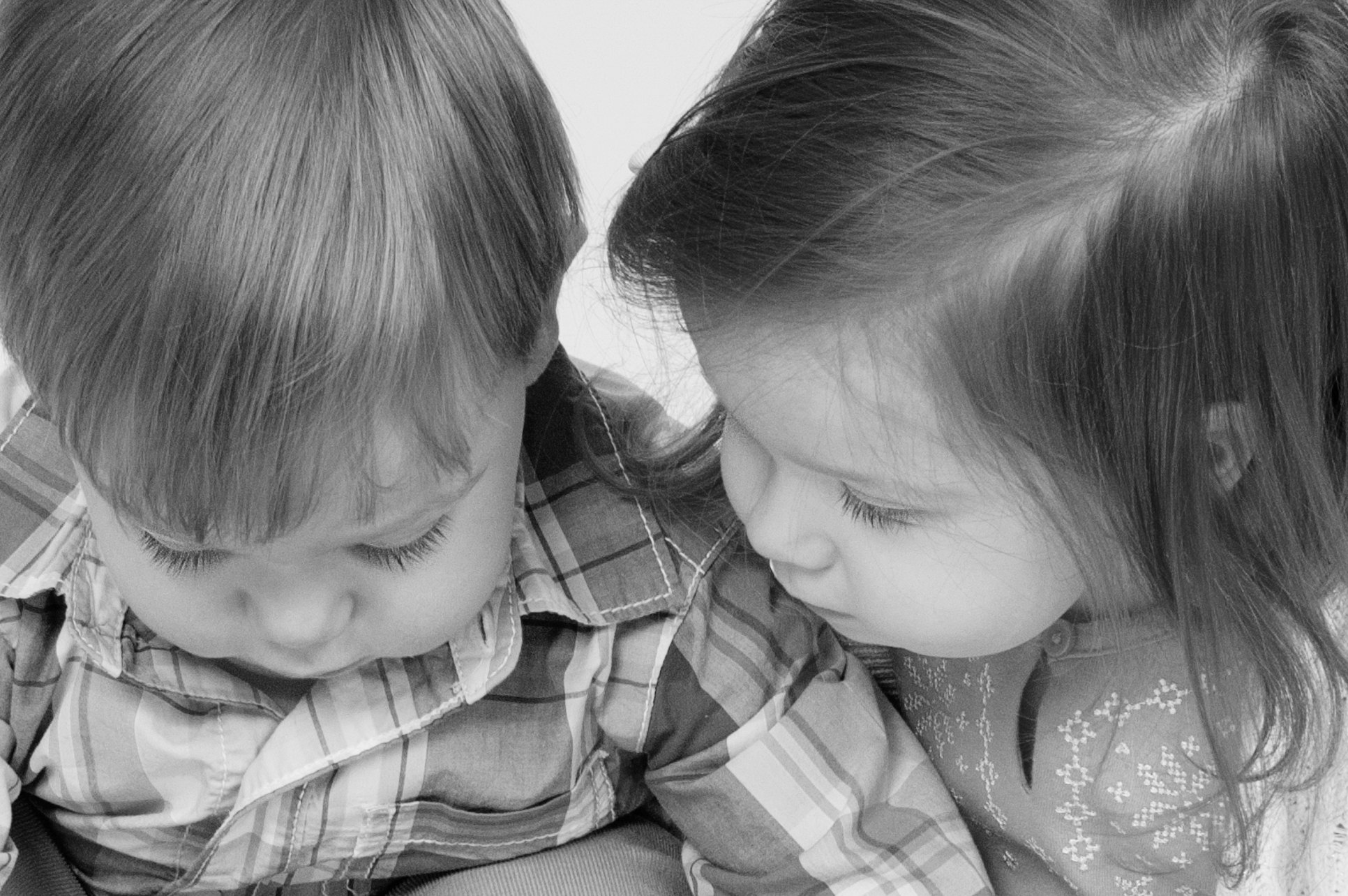 Two Year Old Twins Photography Session Frederick Md