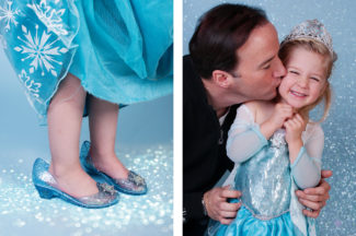 Frozen * Three year Old Girl Photography * Frederick MD Child Photographer