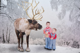 Children's Christmas Photographer * Reindeer