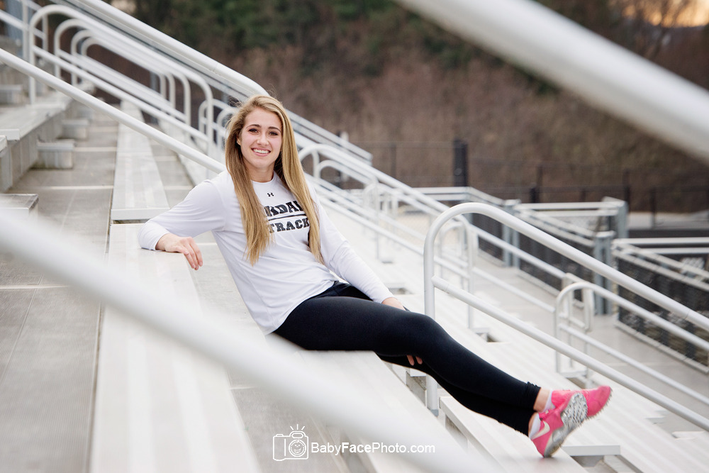 Frederick MD Senior Portrait Photographer - Oakdale High School
