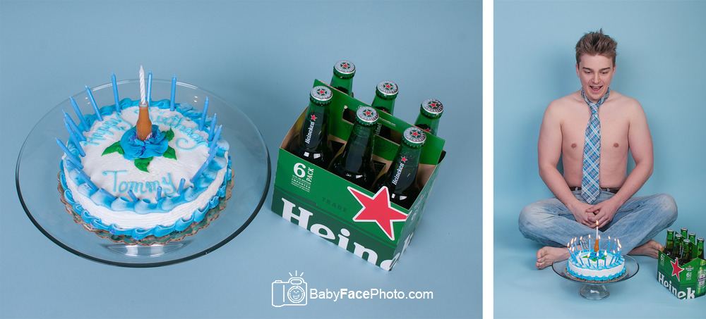 Frederick MD Photographer * 21st birthday * cake smash