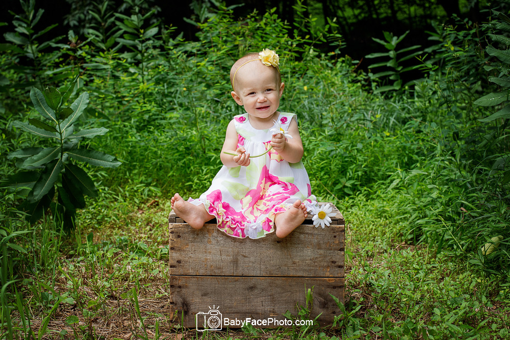 One Year old outdoor photography