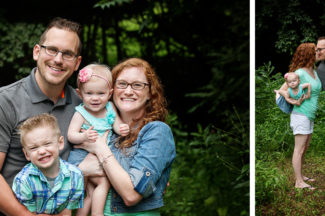 Frederick MD Family Photographer, outdoor, mom and dad