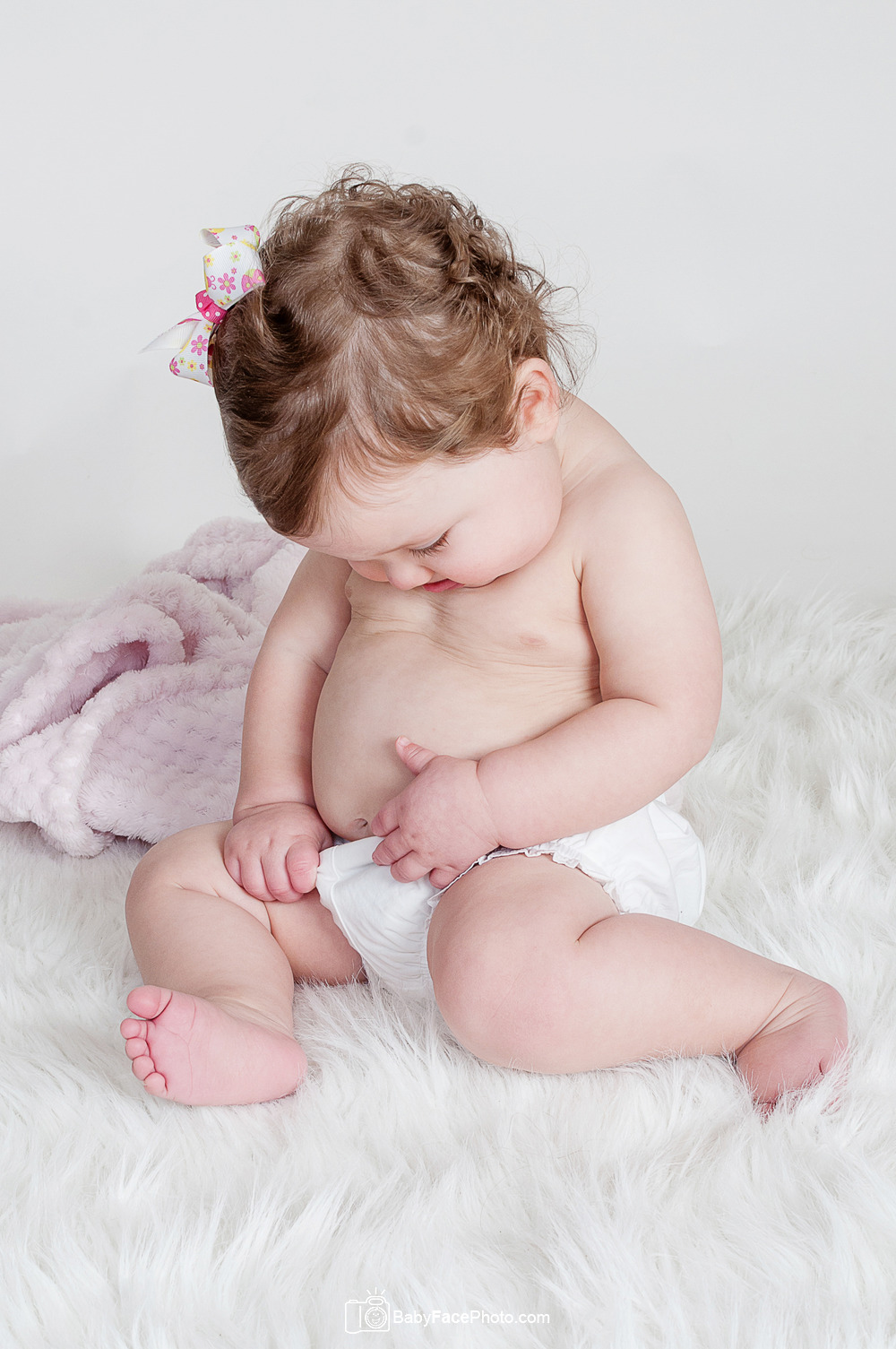 One Year Old Baby Photography in Frederick MD