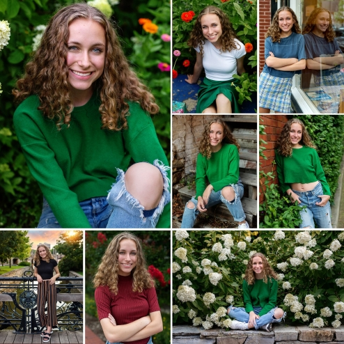 Tuscarora High School Senior Downtown Frederick MD